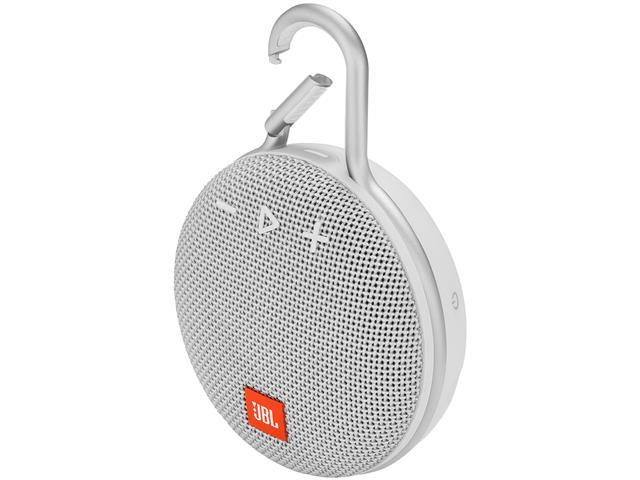 Caixa de Som Bluetooth JBL Clip 3 3,3W Branca - 1