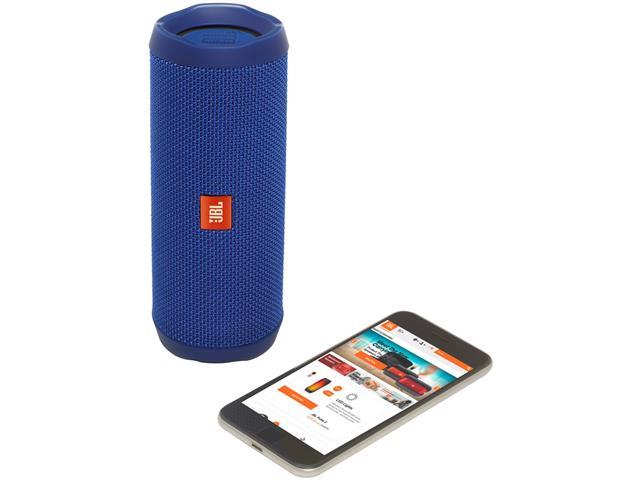 Caixa de Som Bluetooth JBL Flip 4 16W Azul - 4