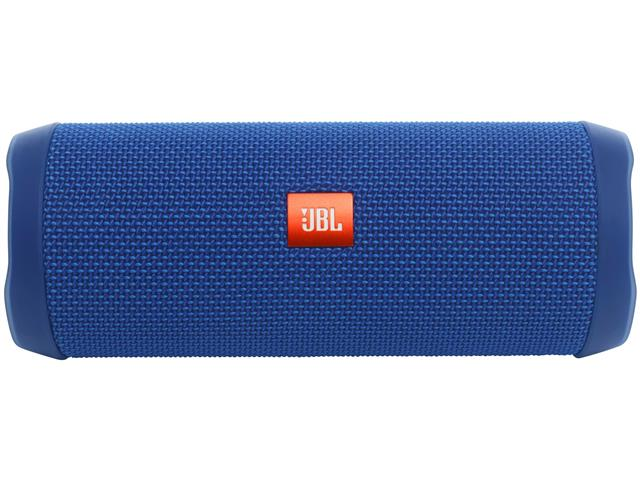 Caixa de Som Bluetooth JBL Flip 4 16W Azul - 1
