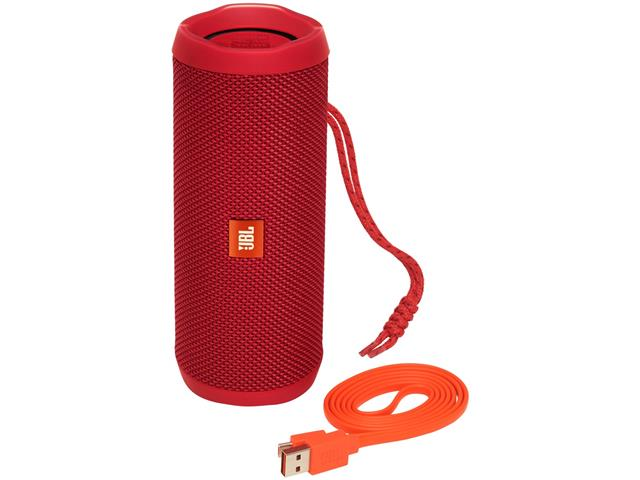 Caixa de Som Bluetooth JBL Flip 4 16W Vermelha