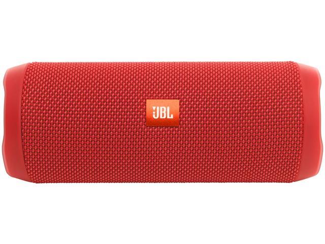 Caixa de Som Bluetooth JBL Flip 4 16W Vermelha - 1