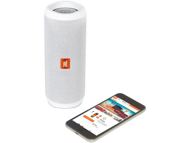 Caixa de Som Bluetooth JBL Flip 4 16W Branca - 4
