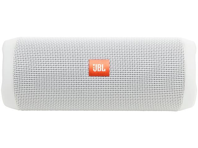 Caixa de Som Bluetooth JBL Flip 4 16W Branca - 1