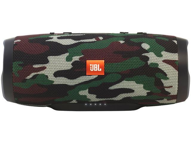 Caixa de Som Bluetooth JBL Charge 3 20W Camuflada
