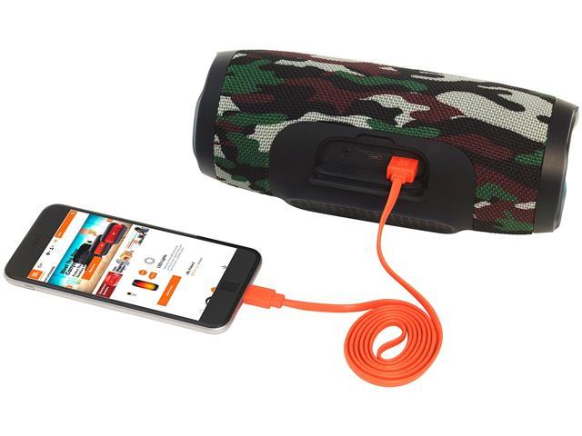 Caixa de Som Bluetooth JBL Charge 3 20W Camuflada - 2