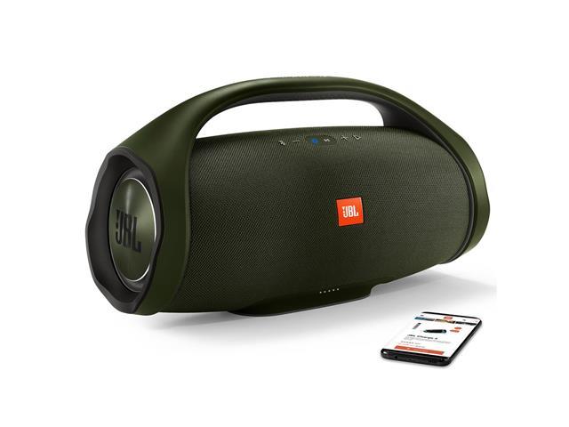 Caixa de Som Bluetooth JBL Boombox 60W Verde - 4