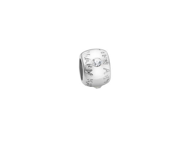 Berloque Prateado  Diamante - Consultora Estrela