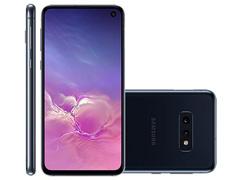 """Smartphone Samsung Galaxy S10e 128GB Tela 5.8"""" 6GB RAM 12+16MP Preto - 0"""