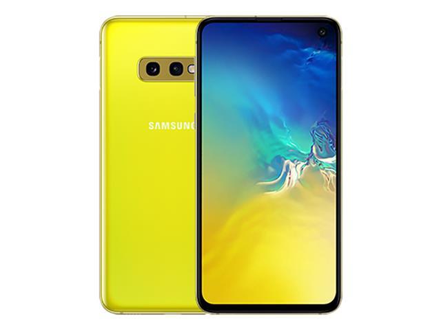 "Smartphone Samsung Galaxy S10e 128GB Tela 5.8"" 6GB RAM 12+16MP Amarelo - 1"