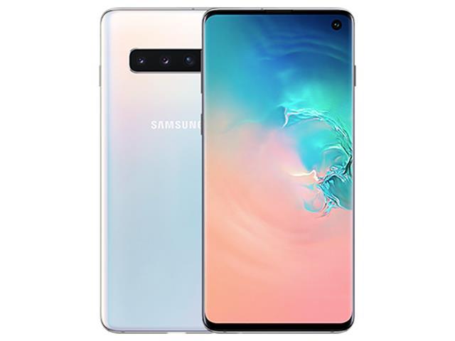 "Smartphone Samsung Galaxy S10 128GB Tela 6.1""8GB RAM 12+12+16MP Branco - 1"