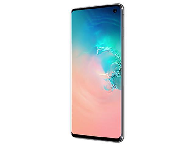 "Smartphone Samsung Galaxy S10 128GB Tela 6.1""8GB RAM 12+12+16MP Branco - 5"