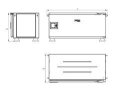 Caixa Ferramentas Tramontina PRO Pickup Box 500x1000x500mm 145 Peças - 5