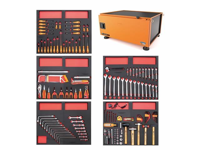 Caixa Ferramentas Tramontina PRO Pickup Box 820x1000x500mm 153 Peças