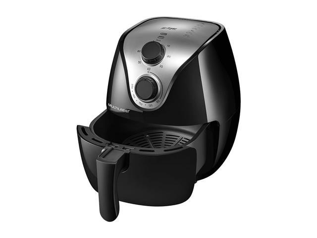 Fritadeira Elétrica Air Fryer Multilaser Gourmet 1500W 4 Litros 220V - 2