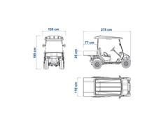 Veículo Utilitário Elétrico Elettro Tramontina 170CP AC 5KW 48V 6,7HP - 9