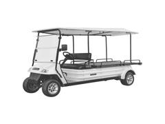 Veículo Utilitário Elétrico Elettro Tramontina 320PR AC 5KW 48V 6,7HP - 0