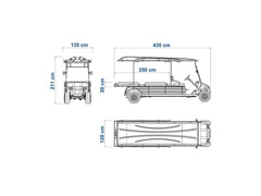 Veículo Utilitário Elétrico Elettro Tramontina 320PR AC 5KW 48V 6,7HP - 4