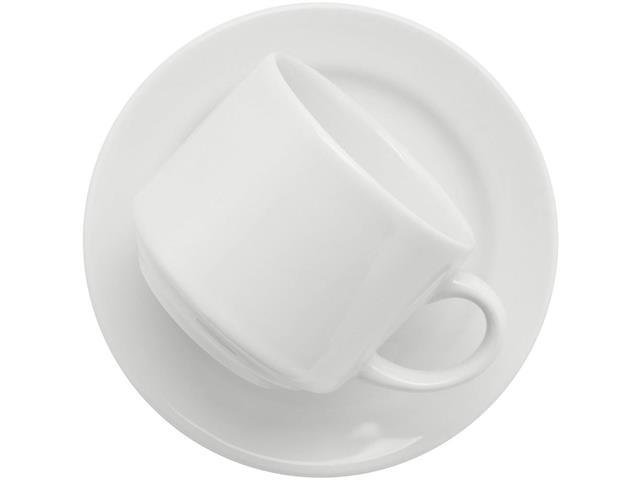 Conjunto de Xícaras para Chá  Biona Donna Branca 12 Peças - 1