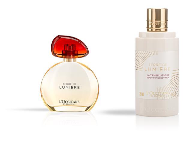 Combo L'Occitane En Provence Perfume e Hidratante Terre De Lumière