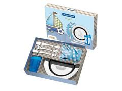 Conjunto Infantil Tramontina Le Petit Azul 6 Peças - 3
