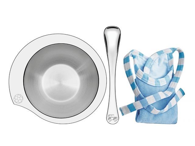 Conjunto Infantil Tramontina Le Petit Azul 3 Peças
