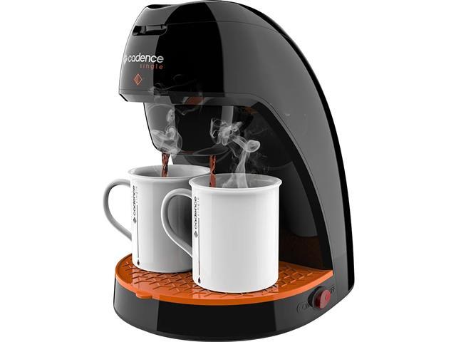 Cafeteira Single Cadence Contrast Preta 240mL 220V - 1