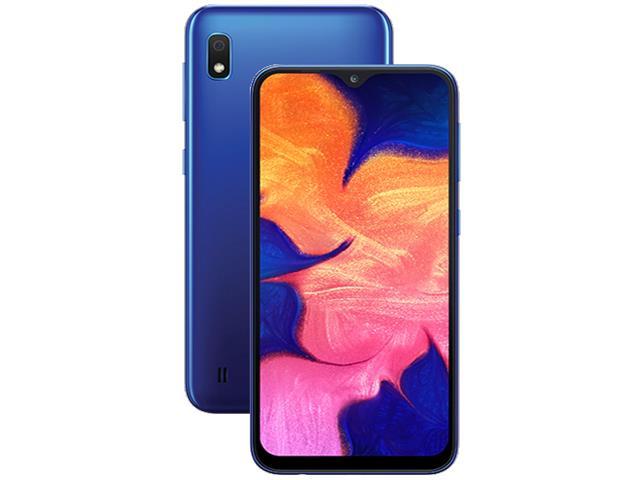 Smartphone Samsung Galaxy A10 32GB Duos 4G Tela 6.2Câm 13+5MP Azul - 1