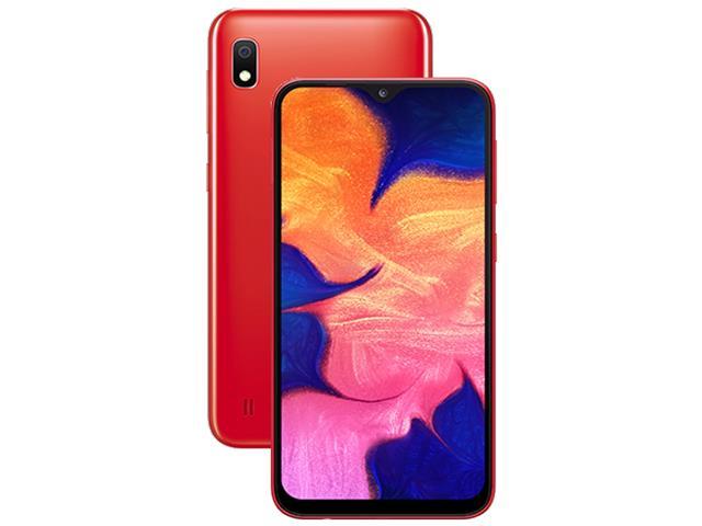Smartphone Samsung Galaxy A10 32GB Duos 4G Tela 6.213+5MP Vermelho - 1