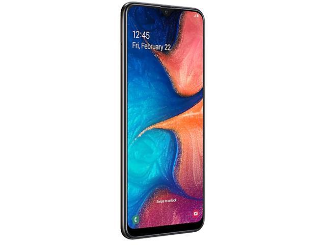 Smartphone Samsung Galaxy A20 32GB Duos 4G Tela 6.4Câm 13+5MP Preto - 3