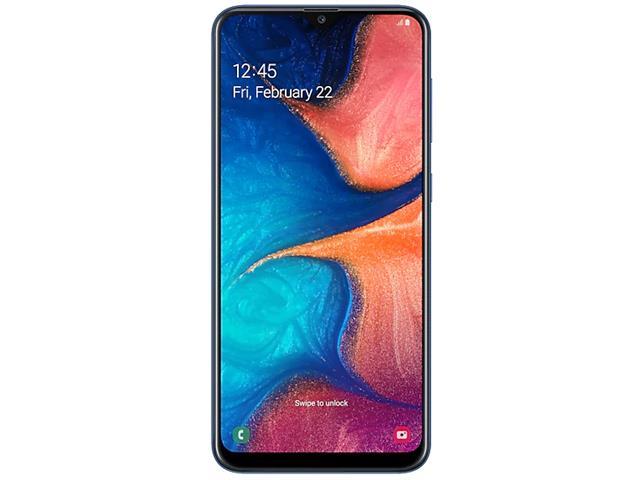 Smartphone Samsung Galaxy A20 32GB Duos 4G Tela 6.4Câm 13+5MP Azul - 1
