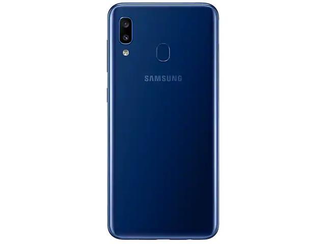 Smartphone Samsung Galaxy A20 32GB Duos 4G Tela 6.4Câm 13+5MP Azul - 2