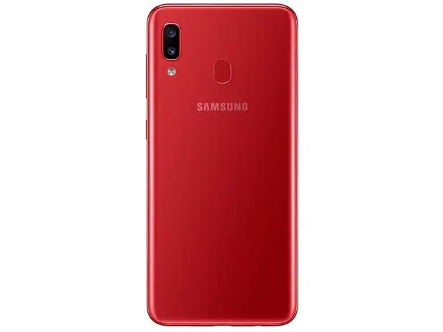 Smartphone Samsung Galaxy A20 32GB Duos 4G Tela 6.413+5MP Vermelho - 2