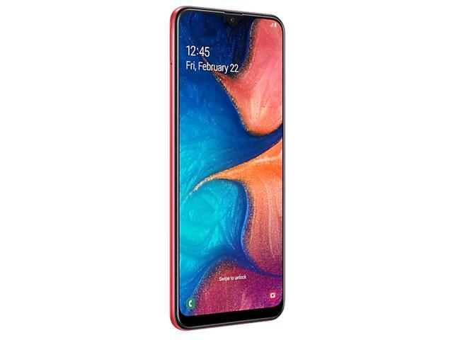Smartphone Samsung Galaxy A20 32GB Duos 4G Tela 6.413+5MP Vermelho - 3