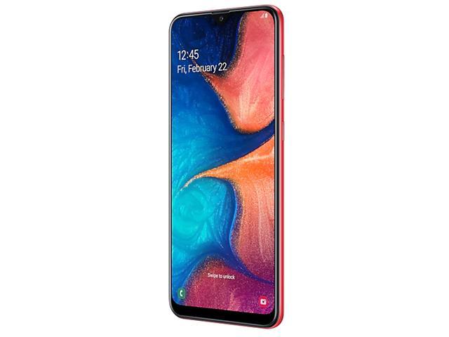 Smartphone Samsung Galaxy A20 32GB Duos 4G Tela 6.413+5MP Vermelho - 4