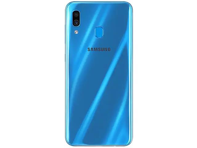 Smartphone Samsung Galaxy A30 64GB Duos 4G Tela 6.4Câm 16+5MP Azul - 1