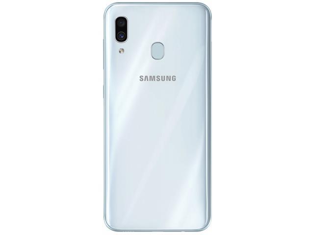 Smartphone Samsung Galaxy A30 64GB Duos 4G Tela 6.4Câm 16+5MP Branco - 3