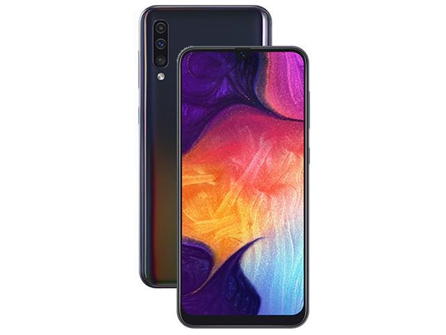 Smartphone Samsung Galaxy A50 64GB 4G Tela 6.43 Câm 25+5+8MP Preto - 2