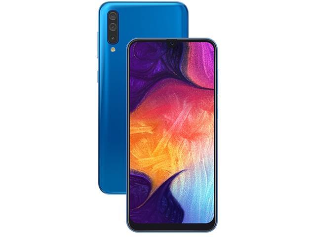 Smartphone Samsung Galaxy A50 64GB 4G Tela 6.43 Câm 25+5+8MP Azul - 2