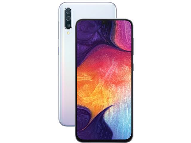 Smartphone Samsung Galaxy A50 64GB 4G Tela 6.43 Câm 25+5+8MP Branco - 1