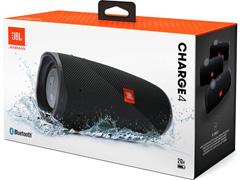Caixa de Som Bluetooth JBL Charge 4 30W à prova d'água Connect+ Preta - 6