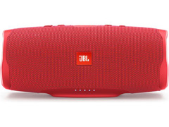 Caixa de Som Bluetooth JBL Charge 4 30W prova d'água Connect+Vermelha
