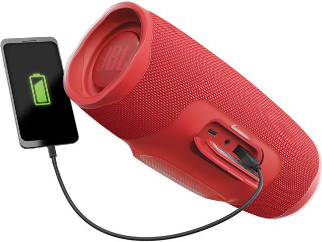 Caixa de Som Bluetooth JBL Charge 4 30W prova d'água Connect+Vermelha  - 4