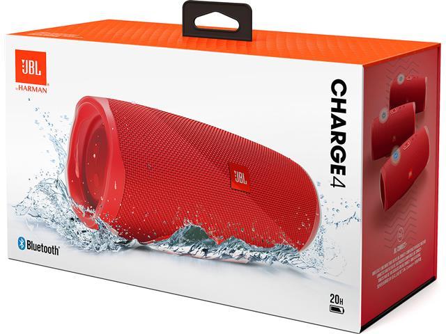 Caixa de Som Bluetooth JBL Charge 4 30W prova d'água Connect+Vermelha  - 6