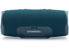 Caixa de Som Bluetooth JBL Charge 4 30W à prova d'água Connect+ Azul - 2