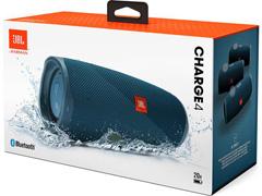 Caixa de Som Bluetooth JBL Charge 4 30W à prova d'água Connect+ Azul - 6