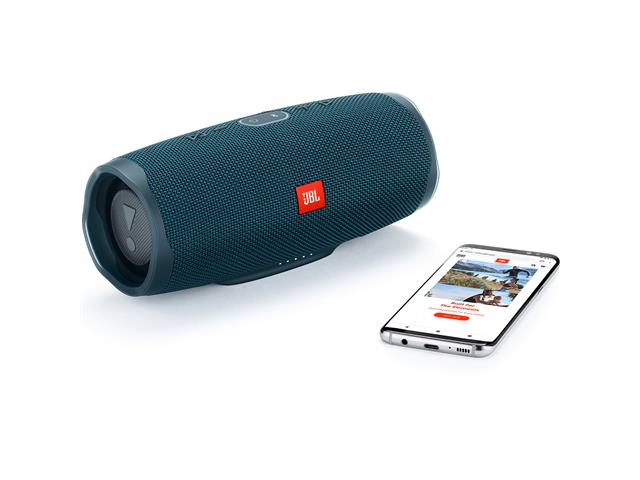 Caixa de Som Bluetooth JBL Charge 4 30W à prova d'água Connect+ Azul - 5