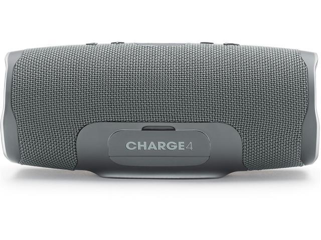 Caixa de Som Bluetooth JBL Charge 4 30W à prova d'água Connect+ Cinza - 2