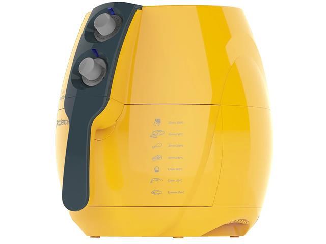 Fritadeira Elétrica sem Óleo Cadence Perfect Fryer Colors Amarela - 1