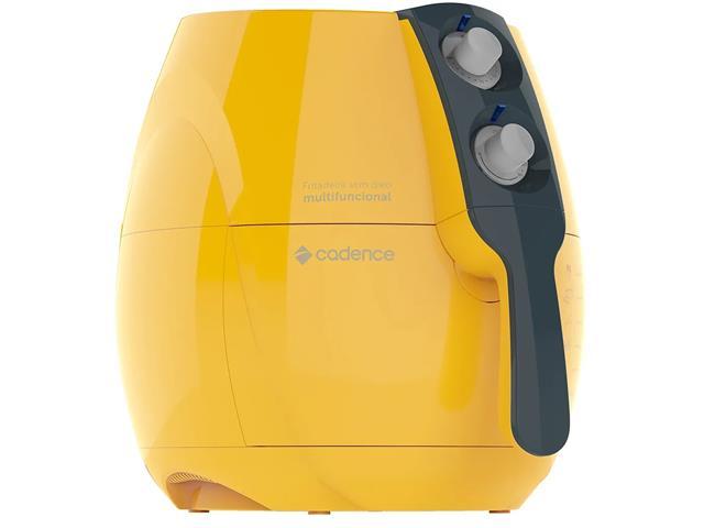 Fritadeira Elétrica sem Óleo Cadence Perfect Fryer Colors Amarela - 2