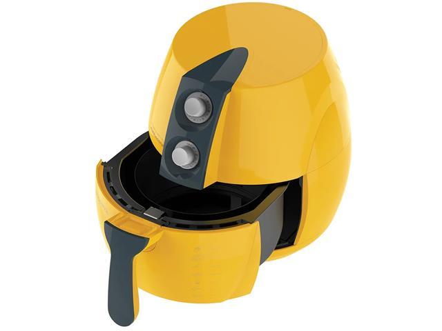 Fritadeira Elétrica sem Óleo Cadence Perfect Fryer Colors Amarela - 3